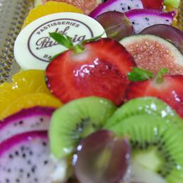 Tartas y bandas fruta