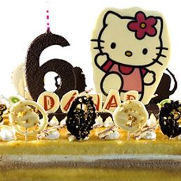 Pastel con foto de chocolate, forma de número