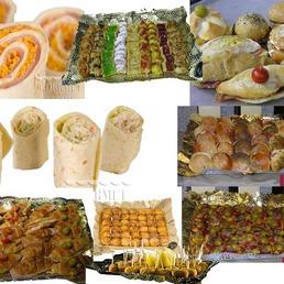 menú catering, pack catering, menú cena