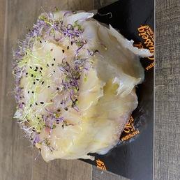 pastel salada bacalao