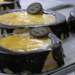 Pastel massini trufa pasteleria catering barcelon