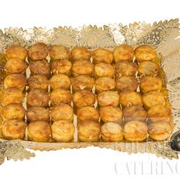 Quiche lorrain Minis catering Barcelona