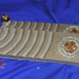 Turrón artesano de crujiente de chocolate de leche