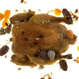 Pollo de navidad relleno cláscio