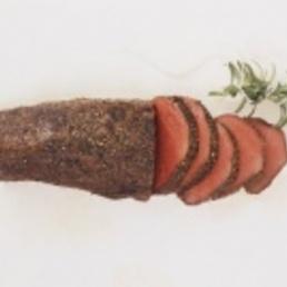 Roastbeef plato de navidad catering barcelona
