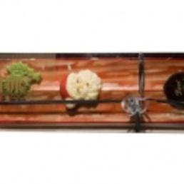 Turrón artesano de frambuesa  pasteleria barcelona