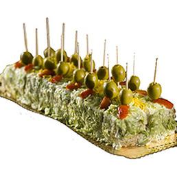 Pastel salado de atún catering Barcelona