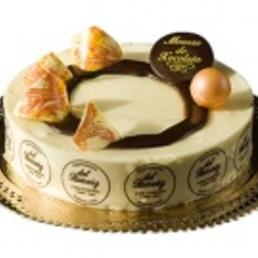 Mousse de chocolate de leche pastelería barcelona