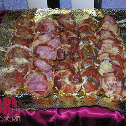Mini pizzas catering Barcelona