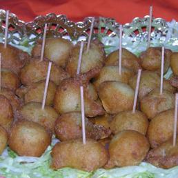 buñuelos de bacalao catering Barcelona