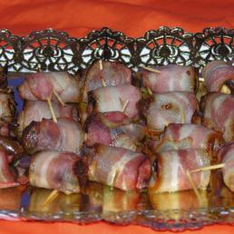 Dátiles con bacon para catering Barcelona