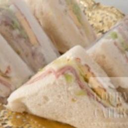 MINI SANDWICH americanos molde bimbo bocadillos