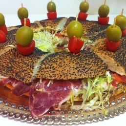 Bagel catering barcelona bocadillos