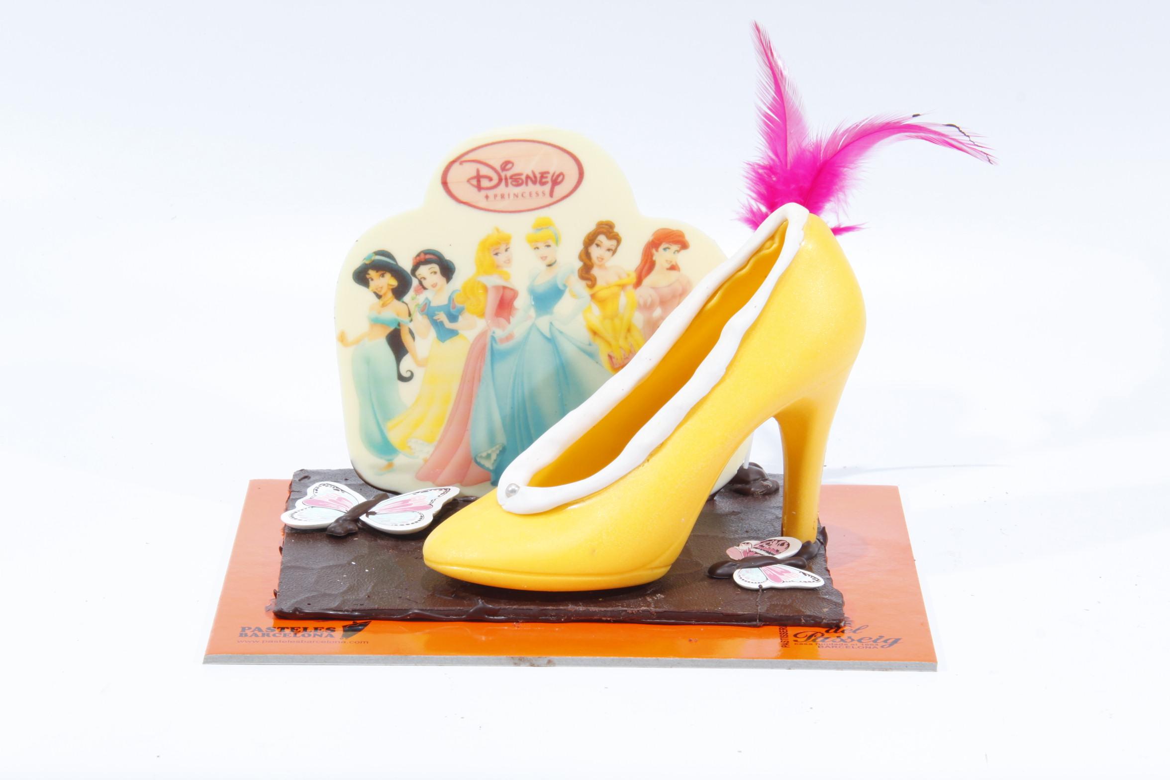 5 mona chcolate b zapato princesas disney