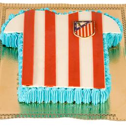 Pasteles equipos de fútbol, barça, Madrid español