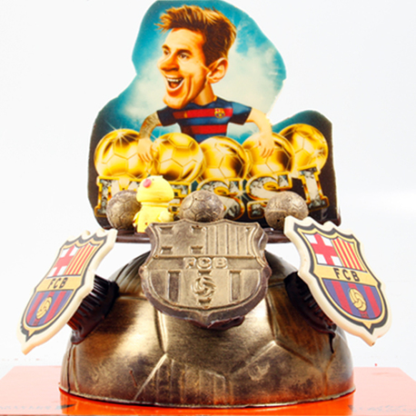 Big messi pelota oro 5
