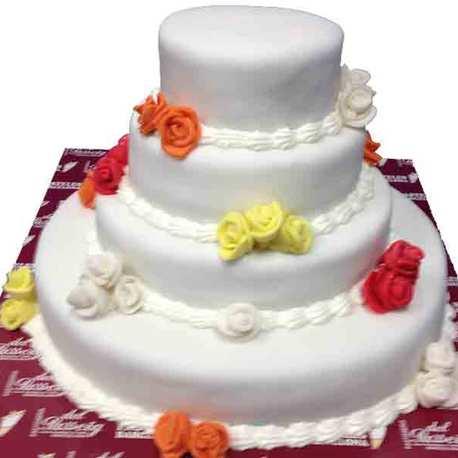 Big pastel boda flores