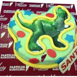 Pastel Foto dinosaurio