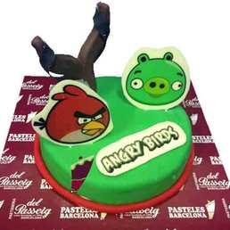 Pastel de Angry Birds Cake