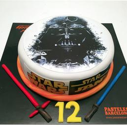 Pastel Star Wars Darth Vader