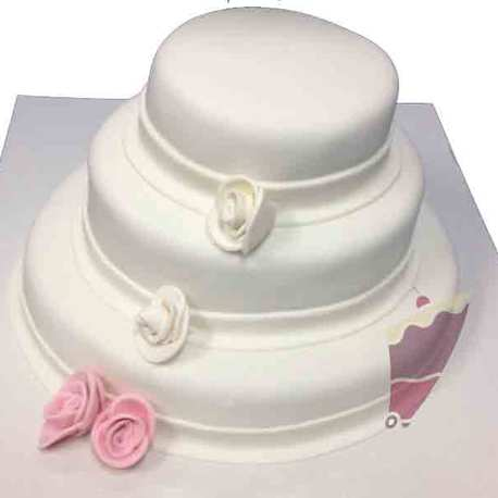 Big pastel boda fondan