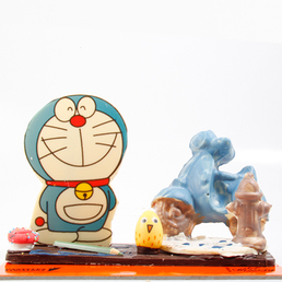 Doraemon venta de chocolate