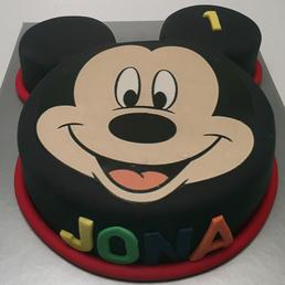 Pastel de Fondant de Micky  Mouse venta a domicilio