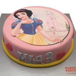 Pastel Princesas Disney Blananieves en barcelona