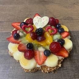 banda de fruta dia de la madre