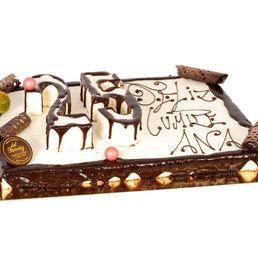Pastel cumpleaños en forma de número