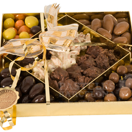 regalar rocas de chocolate petit fours