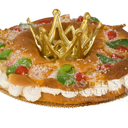 Tortel de reyes Crema pastelera