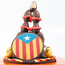 Estelada Catalunya Mona de pasqua compar a domicilio