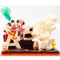 mickey mouse Mona de pasqua