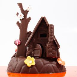 Casita de chocolate pequeña Figura nº16