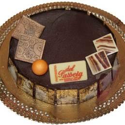Pastel de trufa cocida pasteles a domicilio