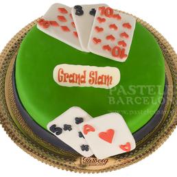 pastel poquer pokes texas holdem cartas