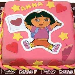 pastel Dora Esploradora